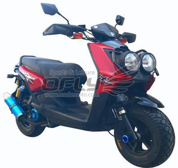 Epa approved 150cc gas motor scooter equipped with cheap for Cheap gas motor scooters