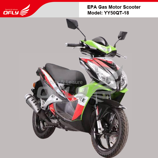Eap dot approved 50cc gas motor scooter equipped with for Cheap gas motor scooters