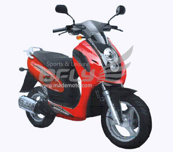 Eec approved 125cc gas motor scooter equipped with cheap for Cheap gas motor scooters