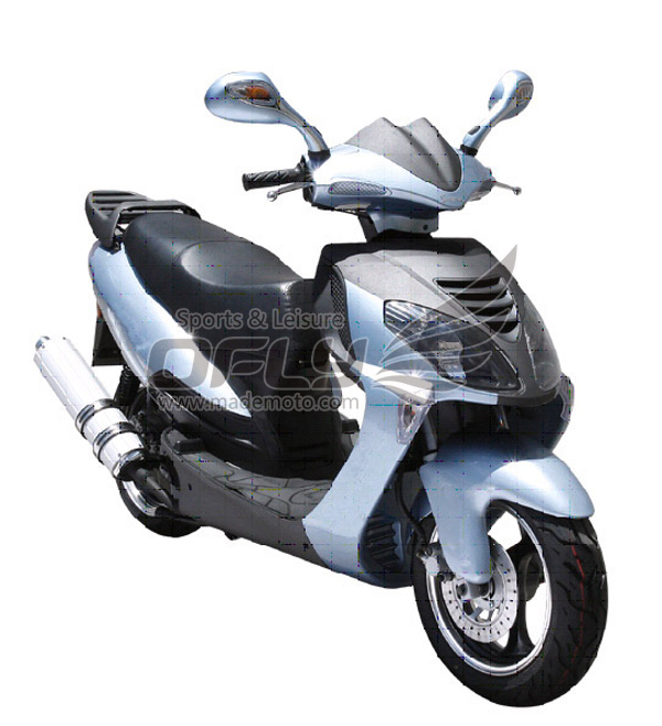 Eec epa dot approved gas motor scooter equipped with 4 for Motor scooter store near me