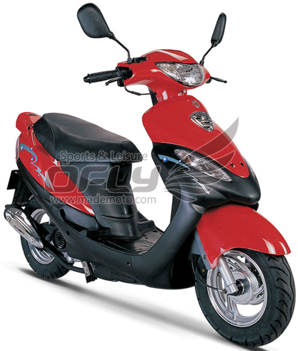 Dot Epa Approved 50cc Gas Motor Scooter Equipped With