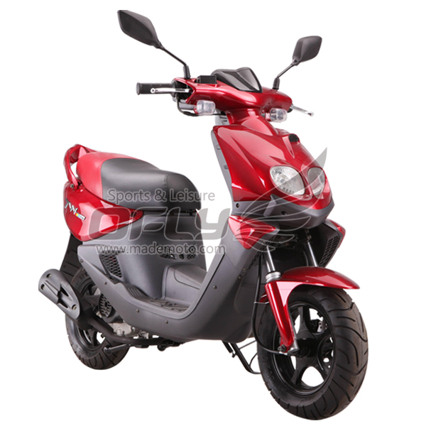 Eec epa dot approved 50cc gas motor scooter equipped with for Small motor scooters for sale