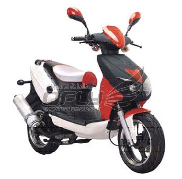 EEC/EPA DOT Approved Gas Motor Scooter Equipped with 4 ...
