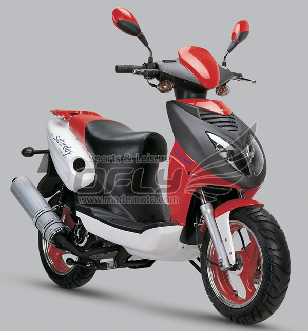 EEC/EPA Approved Gas Motor Scooter Equipped with 4 Stoke ...