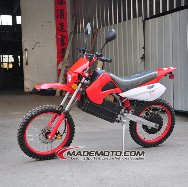Dirt Bike Battery >> Big Power Electric Dirt Bike for Adult