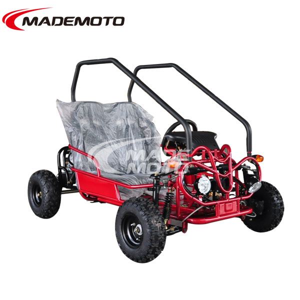 on 110cc Automatic Engine Start Electric Motor